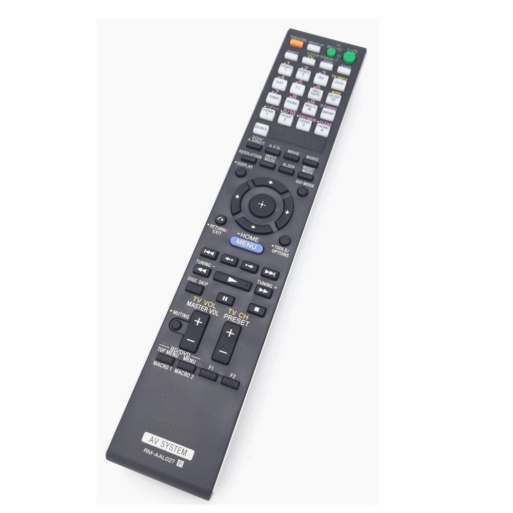 Remote Control Commander RM-AAL027 For SONY STR-DA3500ES A/V receiver