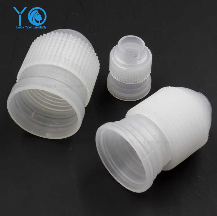 3pcs/Lot Icing Piping Nozzles Converter Dessert Decorator DecoratingTips Converter Connector Squeeze Cake Tools Bakeware