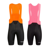 2019 Orange Pink Classic Cycling Bib Shorts Race Bicycle Shorts Bottom Ropa Ciclismo Bike Pants With High density PAD