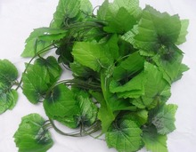 12pcs 6.8feet Wired Ivy Garland Rattan Silk Artificial Vine Greenery For Wedding Home Office