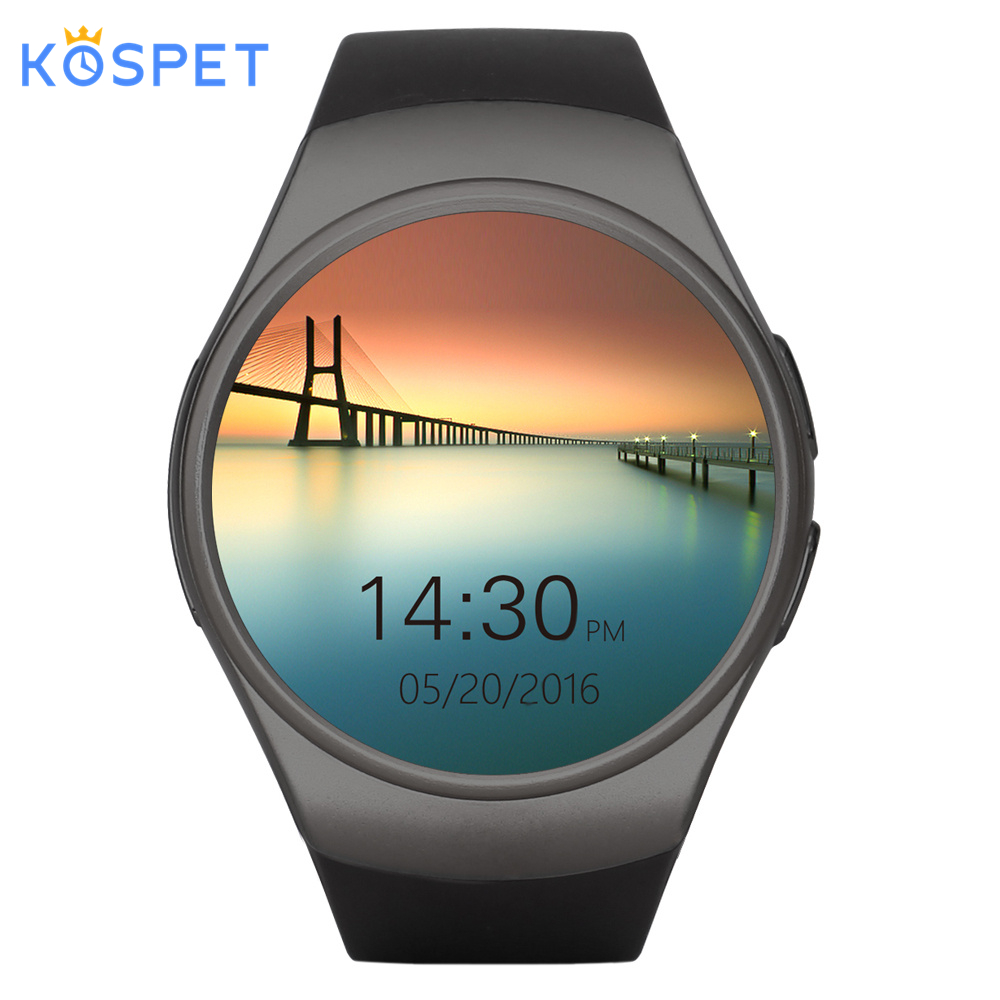 KOSPET Smart-Watch Support-Heart-Rate Bluetooth KW18 Android Women SIM for IOS 3G 16GB