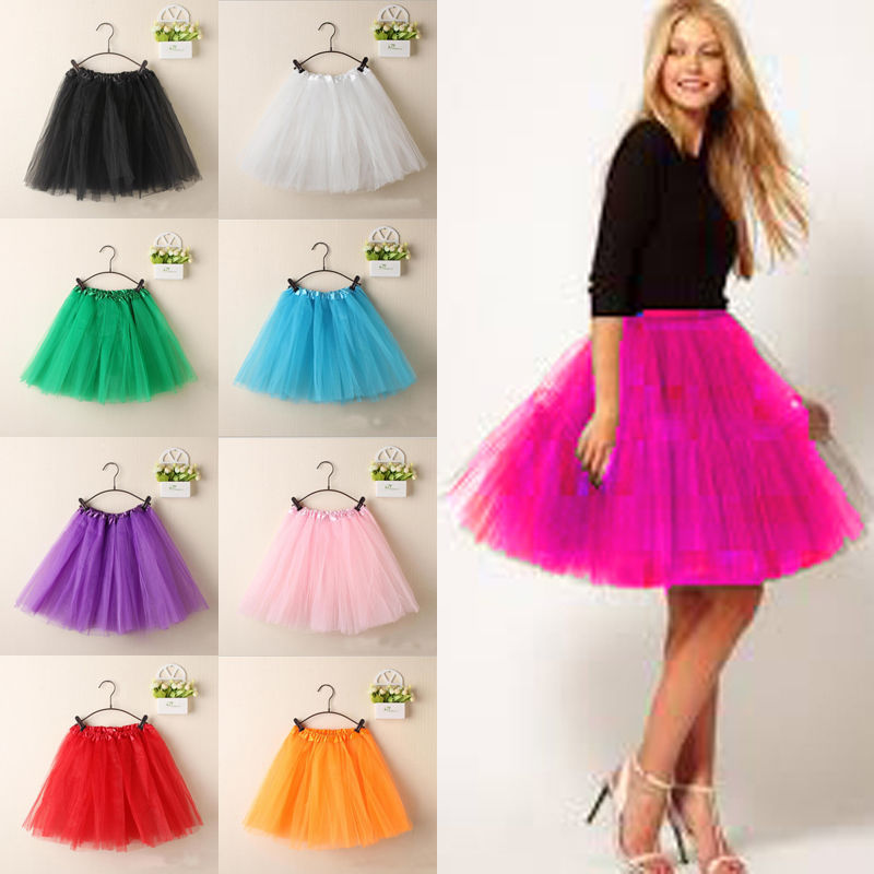 HTB1VaO8atjvK1RjSspiq6AEqXXaj - Women Vintage Tulle Skirt Short Tutu Mini Skirts Adult Fancy Ballet Dancewear Party Costume Ball Gown Mini skirt Summer Hot