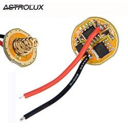 BLF Astrolux X6 X5 S2 S3 SS SC ATTiny25V-based e FET Driver Lanterna + 7135 2.8-4.35 v
