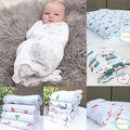 120*120CM Multifunctional Muslin Cotton 100% Soft Newborn Baby Bath Towel Swaddle Blankets Multi Designs Functions Baby Wrap