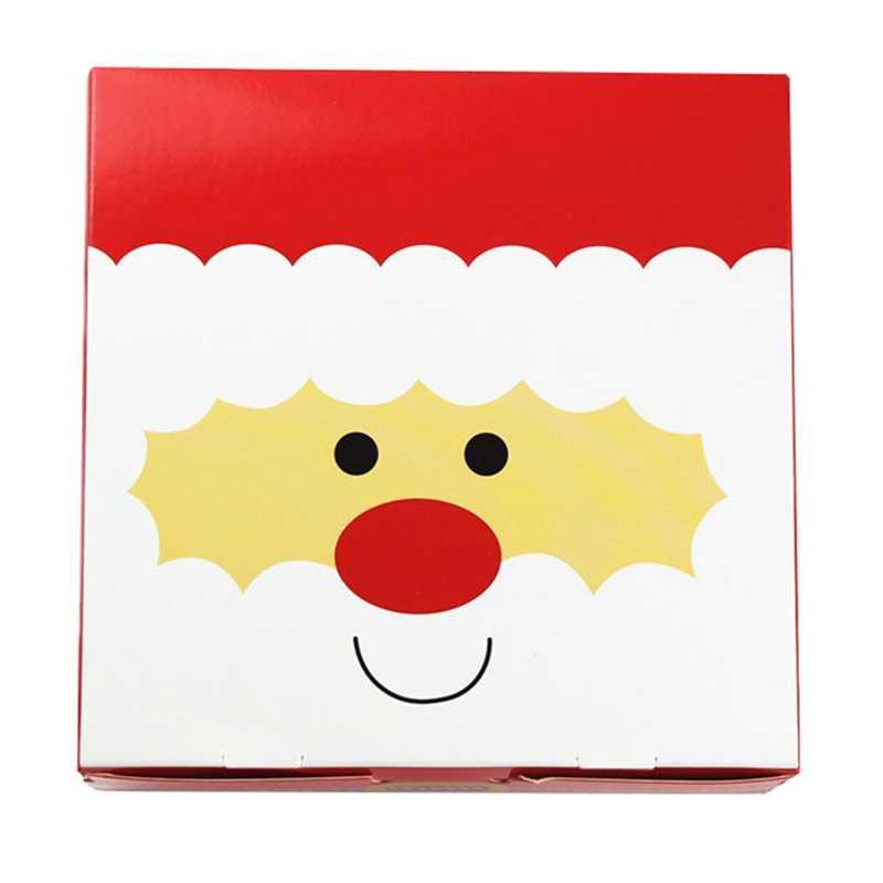 14*14*5 cm Olá Design Presente de Natal Envoltório De Armazenamento Caixa de Papel Como Embalagem de Presente DIY Três Estilo doces de Chocolate Pacote Freeshipping