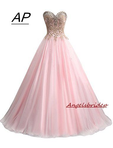 Angelsbridep Quinceanera Dress 2019 Fashion Embroidery Vestido 15 Anos Floor Length Sweet 16 Debutante Gowns With Luxury Crystal