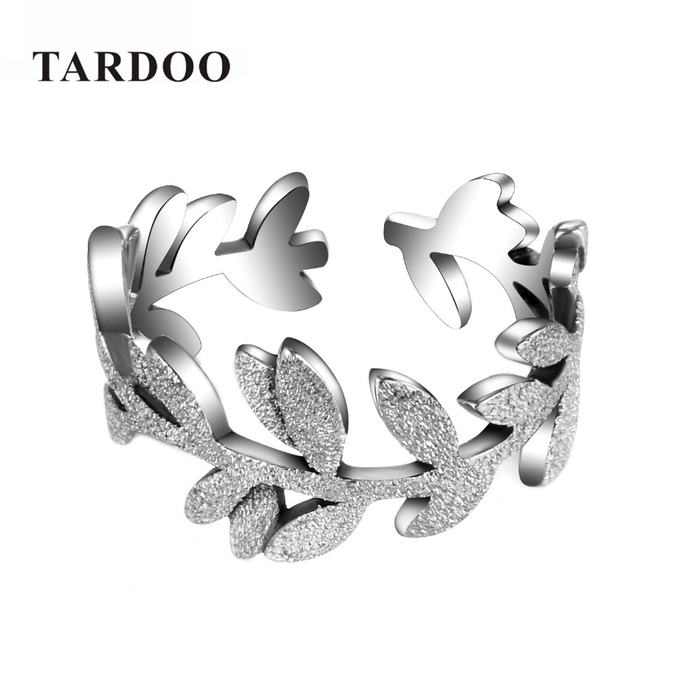 Tardoo Genuine Sterling Silver Flowers Finger Ring Dazzling Daisy Meadow Stackable Ring For Women Wedding Silver