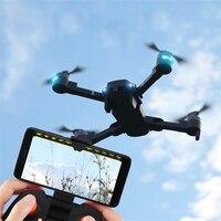 Unique Fold 2.4G 4CH Altitude Hold HD Image WIFI FPV RC Quadcopter Pocket Drone Selfie Fold Remote Control