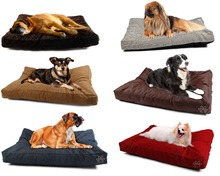 Pet Replacement Dog Bed COVER Reversible  Washable Kennel Mat Cozy Warm Nest Cover Soft Cushion For Cats