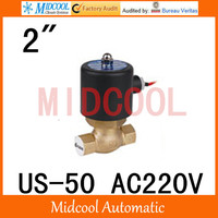 High quality high temperature steam solenoid valve AC220V port 2