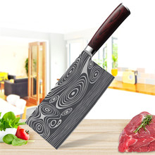 Stainless Steel Cleaver Kitchen Knife Professional Chinese C