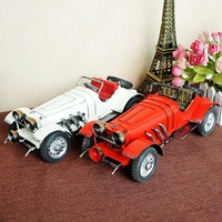 Classic Queen for Mercedes roadster retro tin toys classic cars model to send her boyfriend