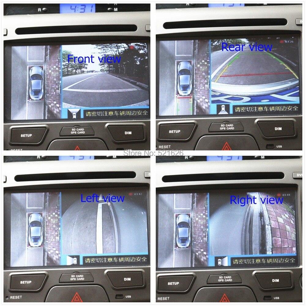 Xüsusi 360 dərəcəli quş görüntüsü avtomobil monitor sistemi - Avtomobil elektronikası - Fotoqrafiya 2