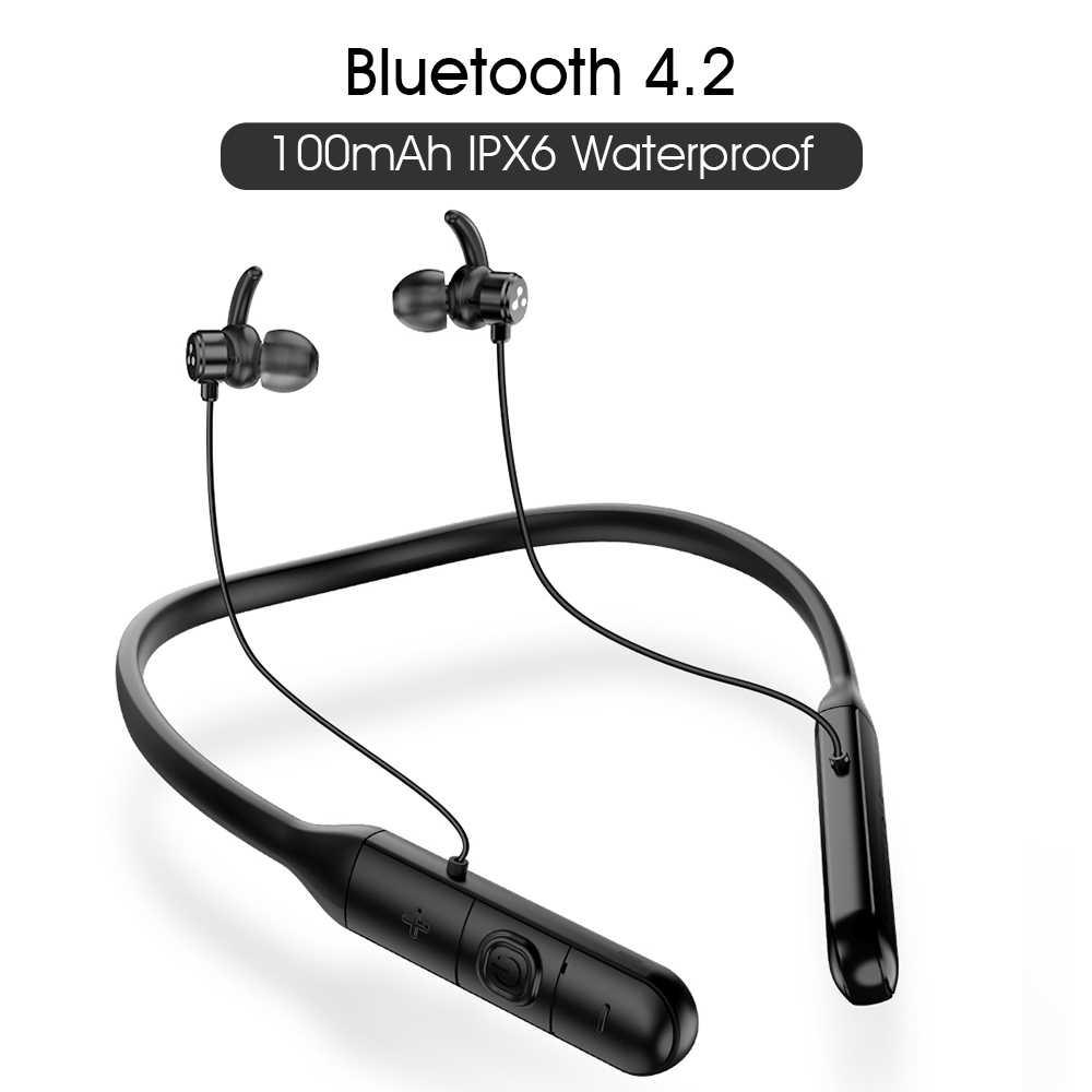 Слог Q3 поддержка apt-x bluetooth V4.2 наушники шумоподавление слог Q3 регулятор громкости Спортивная бас беспроводная гарнитура