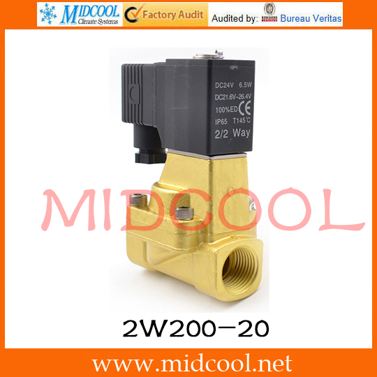Original AirTAC Fluid control valve (2/2way) 2W Series (Internally piloted and normally closed) 2W200-20 original airtac control valve m3 series