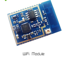 5pcs lot 802.11 b / g / n  2.4G rf wifi module