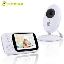 HYASIA 3.5 bezprzewodowa elektroniczna niania aparat telefoniczny dla dzieci Bebe niania monitorowanie temperatury bezpieczeństwa LCD Night Vision Baby Camera