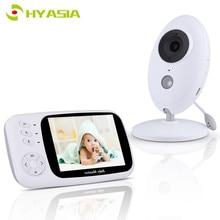 Hyasia 3.5 Không Dây Video Trẻ Em Bé Camera Điện Thoại Bebe Nanny An Ninh Giám Sát Nhiệt Độ Màn Hình LCD Nhìn Xuyên Đêm Cho Bé Camera