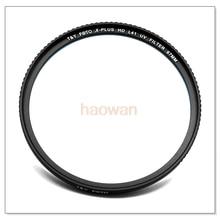 52 55 58 62 67 72 77 82 86 95 105mm L41 HD MCUV Multi Revestido-mc uv ultra slim Lens Filter Protetor de vidro b270 para dslr camera