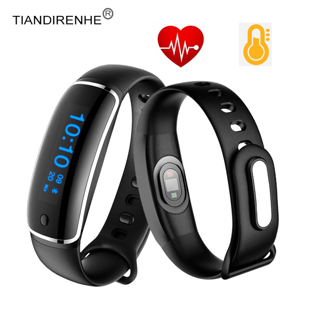 Tiandirenhe Smart Wristband V08 Smart Bracelet Watches Blood Pressure Heart Rate Monitor Fitness Tracker Pulse for IOS Android