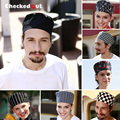 Free Shipping Cook cap working cap checkedout chef cap cheapest chef hat