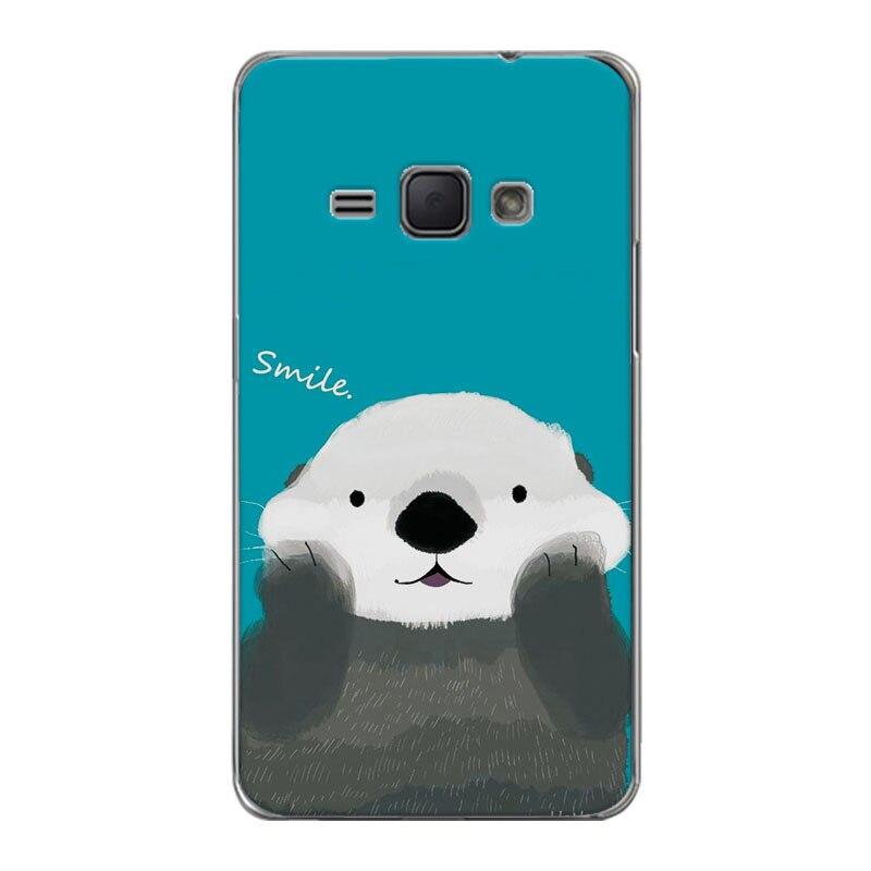 Новые прибыл роспись собака медведь чехол для samsung Galaxy J1 2016 J120 J120f чехол fundas для samsung J120 2016 4,5 + подарок