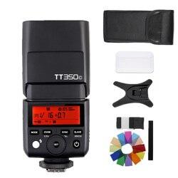 GODOX Mini TT350C tt350 TTL HSS 2.4GHz Flash Cameras TT350+X1TC trigger for Canon 5D MarkIII 80D 7D 760D 60D 600D 30D 100D