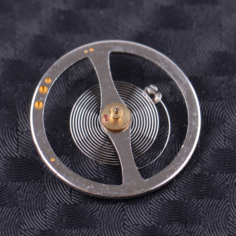 Balance Wheel With Hairspring Replacement Accessory Parts Fit For 7S26C 7S36 A B C Movement Watch