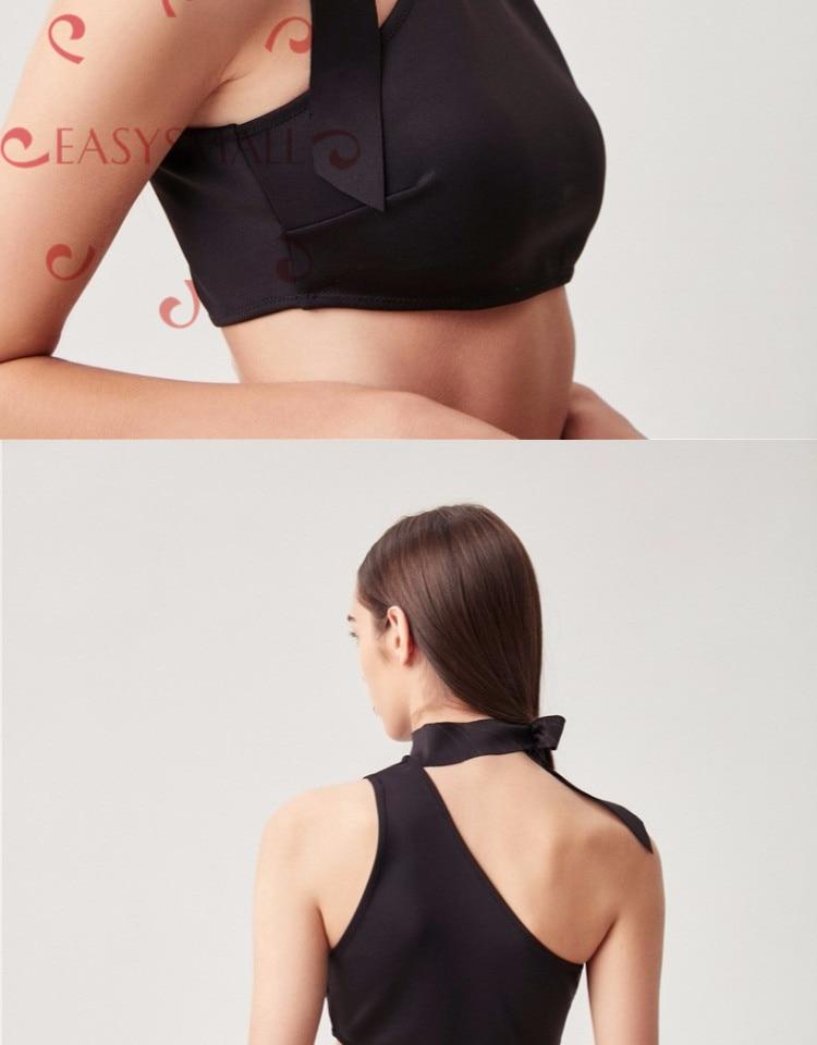 EASYSMALL sexy push up soutien-gorge lingerie bralett soutien gorge femme modis sous-vêtements grande taille femmes noir Bikini maillot de bain - 4