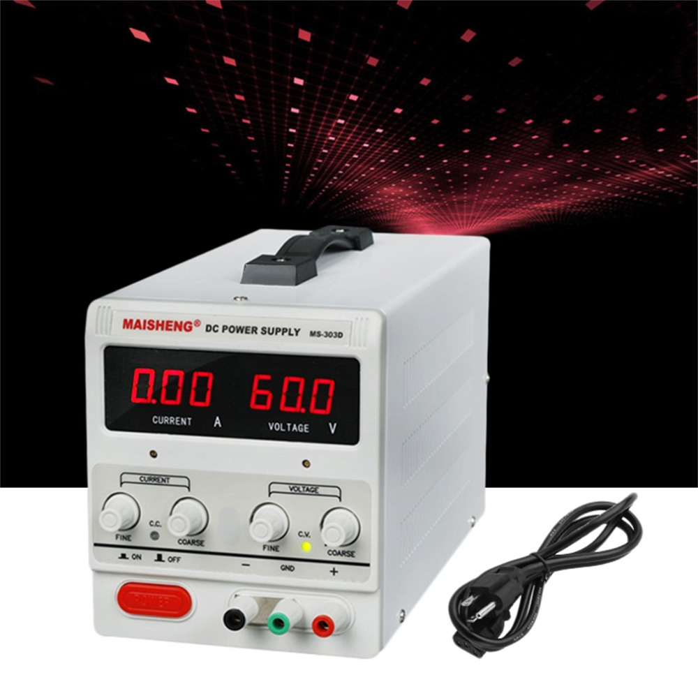 Adjustable DC 30V 5A Dual Digital Variable Precision Lab Grade White DC Power Supply Hot Selling cps 6011 60v 11a digital adjustable dc power supply laboratory power supply cps6011