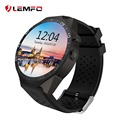 Lemfo smartwatch kw88 mtk6580 quad core android 5.1 smart watch phone 1.39 polegada suporte 3g wifi nano sim card google map app