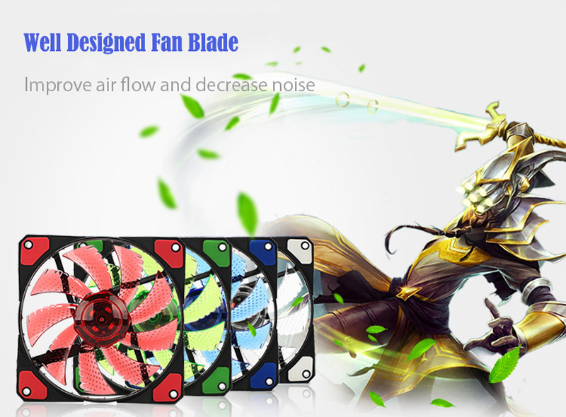 TOP F12025 120mm Computer Cooling Fan (11)