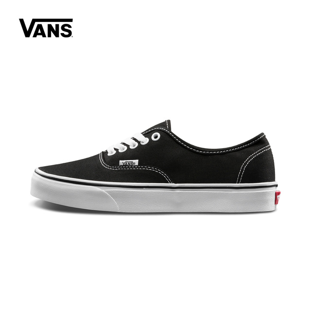41f777bd44 Vans Classic black Old Skool Canvas Sneakers Lace-up Unisex Skateboard Shoes  Authentic VN-