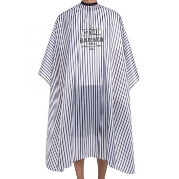 Hairdressing Waterproof Apron Cutting Salon Haircut Cape Gown Anti-static Barber Wrap 150*135cm Barber Apron popular salon barber hairdressing gown with snap button neck finished hair cape anti static fashion design hot sell stylist wrap