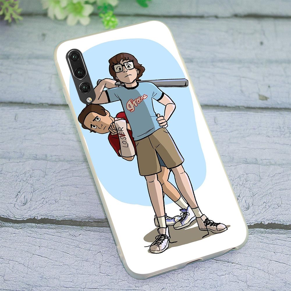 Richie and Eddie Fan Phone Cover for Huawei Honor 7C 5.99in Case 6A 7A Pro 7X 8 9 10 Lite 8C Y6 Y7 Prime Y9 Nova 3 3i