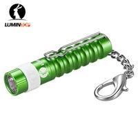 Lumintop worm mini aaa lanterna 110 lumens lanterna chaveiro com clipe + cree led ferramenta de bolso tocha