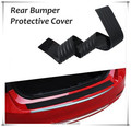 Car Rear Bumper Scuff Protective Sill Cover Fit For Renault duster megane 2 logan Koleos Duster Sandero CLIO CAPTUR Car styling