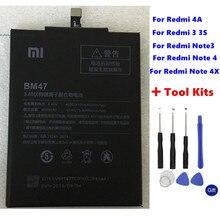 Для Xiaomi Redmi 4A Примечание 3 3 Pro 3 S 3X 4X Батарея Hongmi 4A 3 S 4X MTK Helio X20 Note 4 Глобальный Snapdragon 625 Bateria + Инструменты