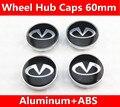 20pcs 60mm Car Emblem Badge Wheel Hub Caps Centre Cover for Infiniti Q50 Q60 Q70 ESQ QX50 QX60 QX70 JX EX FX QX Car Stickers