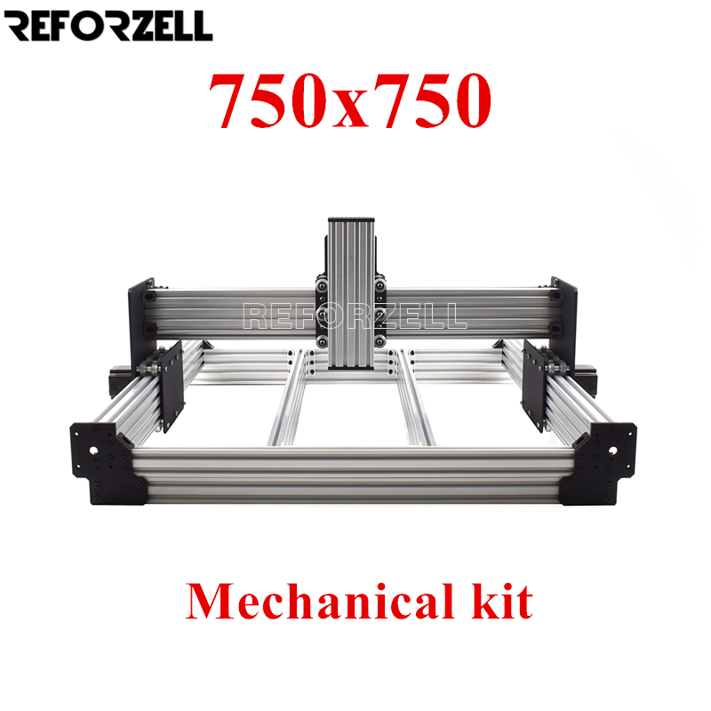750mm X 750mm WorkBee CNC Router Machine Kit,CNC Milling Mechanical Kit