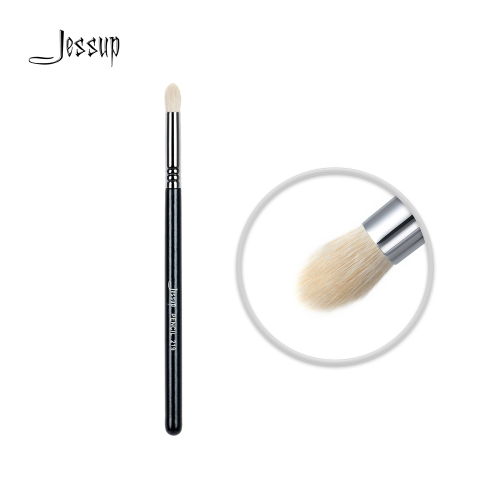 Jessup High Quality Professional Face brush Makeup brushes brush Make up Beauty tools Cosmetics Pencil lash line Goat Hair 219 msq brand professional single angled nose shading contour makeup brush high quality horse hair cosmetics tool for fashion beauty