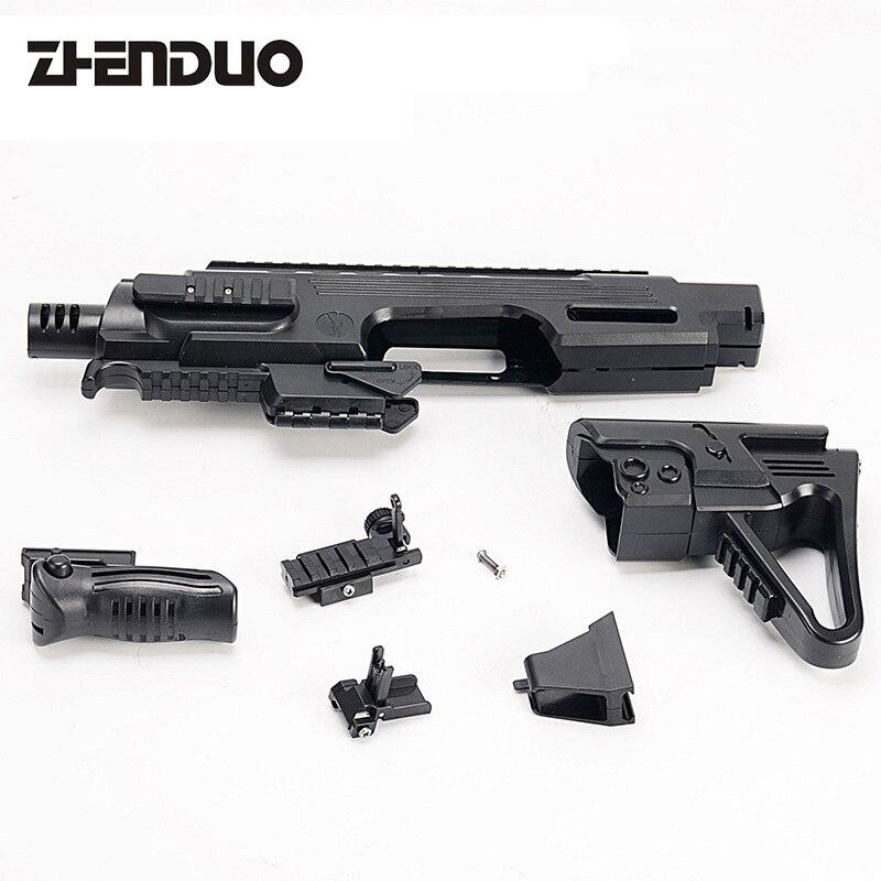 Zhenduo Speelgoed Elektronische Speelgoed Pistool Suite Diy Speciale Accessoires Voor G18 Vs Neff Pistool Air Gun Crystal Kogels Elektrische Speelgoed Guns Duurzaam In Gebruik