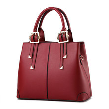 ETONTECK New Brand Luxury Shoulder Bags for Woman Elegant Classic Fashion Ladies Casual Handbags Female Solid Color Red Totes
