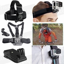 JACQUELINE for Backpack Mount Bundle for GoPro Hero 5 for Gopro Hero 5 4 3+ 3 2 1 SJ4000 SJ5000 SJ6000 H9R H9 H9SE Session