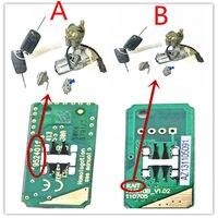 Ключи от машины цилиндр для Geely Emgrand 7 EC7 EC715 EC718 Emgrand7 E7