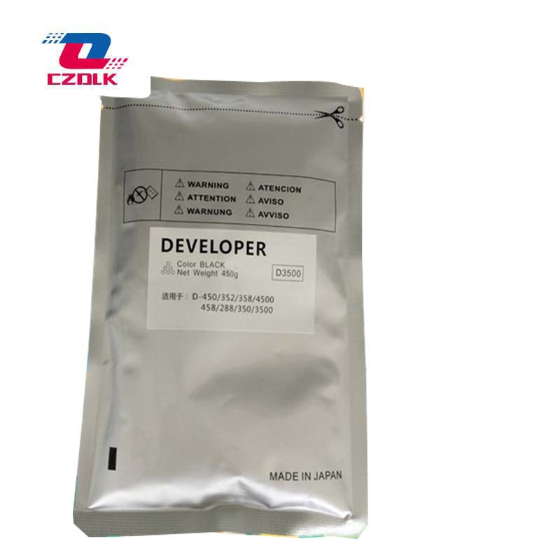 New compatible D-3500C developer for Toshiba E-studio 350 352 358 450 458 4500 450g/bag