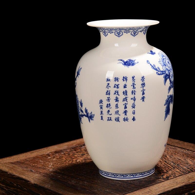 Haus & Garten Wohnkultur Song-dynastie Antike Jingdezhen Guanware Sammlung Porzellan Vase Intarsien Mit Gold Drachen Und Phönix Doppelt Ohren Vase
