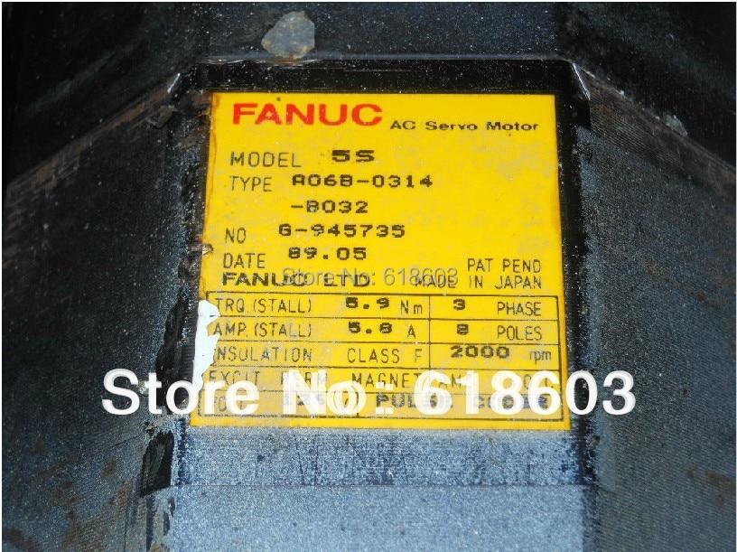 цена на FANUC 5S AC servo motor A06B-0314-B002/ A06B-0314-B005 /A06B-0314-B032 for