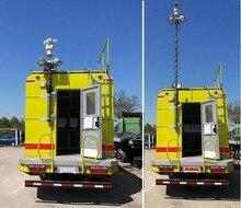 5m pneumatic mast, 5m telescopic antenna mast 30kg loading,heavy duty mast