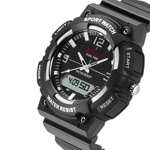 Digital Led de Silicona Reloj de Lujo Marca SANDA Deporte Moda Casual Militar Para Hombre Relojes de Pulsera Relogio masculino reloj Hombre